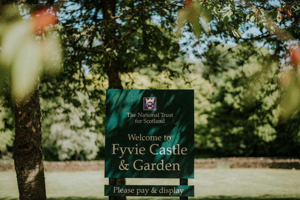 Fyvie Castle wedding photographer